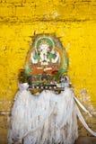 Buddha portrait and Hada Royalty Free Stock Photo