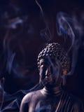 Buddha Portrait joss stick Stock Photos