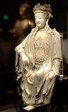 Buddha-Porzellan Stockfotos