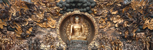 buddha postać Obraz Royalty Free