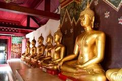 Buddha postura Obrazy Royalty Free
