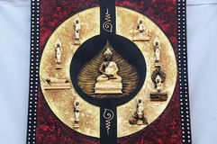 Buddha posture Royalty Free Stock Photo