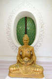 Buddha posture exercise for physical body Royalty Free Stock Photos