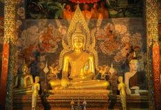 Buddha of Prathat chohae Royalty Free Stock Images