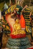 Buddha protected by naga Stock Images