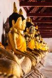 Buddha przy Wat pratat chaiya Fotografia Royalty Free