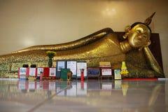 Buddha przy Wata pa pradu Rayong zdjęcie royalty free