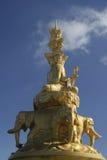 buddha puxian staty Royaltyfri Foto