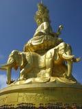 buddha puxian staty Royaltyfri Fotografi
