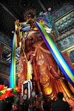 Buddha que adora Fotografía de archivo