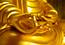 Buddha ręki Obrazy Stock