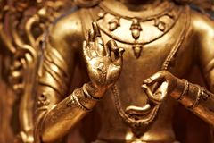 buddha ręka Obrazy Royalty Free
