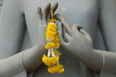 Buddha ręki Zdjęcia Stock