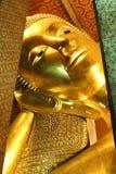 buddha reclining Royaltyfri Fotografi