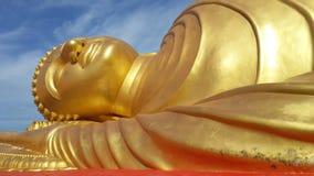 buddha reclining Royaltyfria Foton