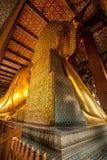 buddha reclining Royaltyfri Foto