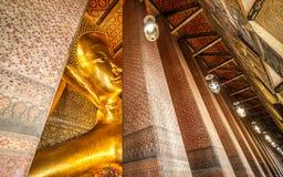 buddha reclining Royaltyfria Bilder