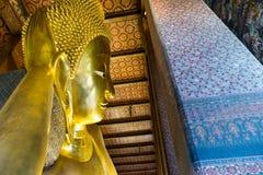 buddha reclining Royaltyfri Bild