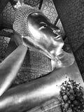 buddha reclining Arkivbilder