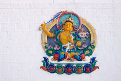 Buddha relief image Royalty Free Stock Photos