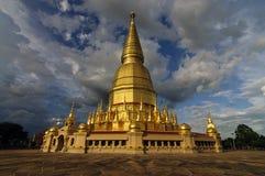 Buddha reliker på Li Lamphun Arkivfoto