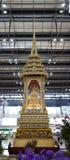 Buddha reliker Stupa i den Bangkok flygplatsen Arkivbild