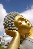 Buddha rested. In a eden garden Royalty Free Stock Photos