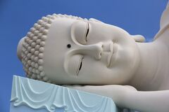 This Buddha is resting and sleeping.