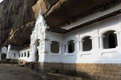 Buddha Rock temple Royalty Free Stock Photos