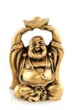buddha roligt guld- Royaltyfria Bilder