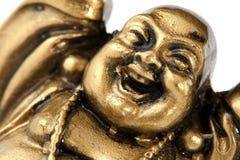 buddha roligt guld- Royaltyfri Foto