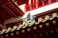 buddha roofline świątynia Obraz Royalty Free