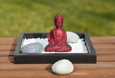 Buddha rosso Fotografia Stock Libera da Diritti