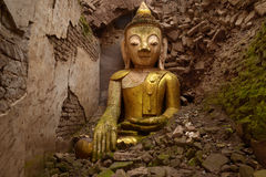 Buddha-Ruinen Lizenzfreie Stockfotos