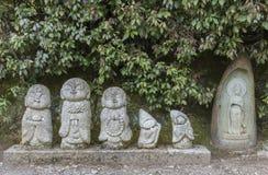Buddha rzeźba w Japonia obrazy stock