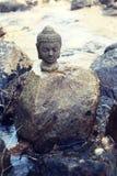 Buddha rzeka zdjęcie royalty free