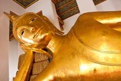 buddha sömn Arkivbilder