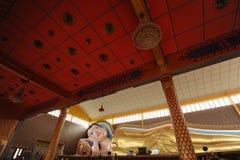 buddha sömn Arkivbild