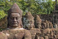 Buddha& x27 s Angkor Thom, Καμπότζη Στοκ Εικόνα