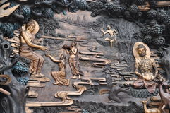 buddha s berättelse arkivbilder