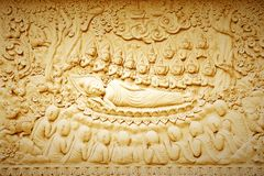 Buddha's death. Stock Photography