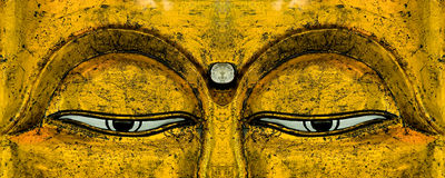 Buddha's Eyes Stock Photography