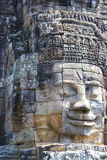 Buddha's Face at Bayon Temple, Cambodia Royalty Free Stock Image
