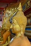 Buddha's face close up . Stock Photos
