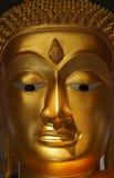 Buddha's face. Kanlaya Temple in Bangkok,Thailand Stock Photo