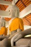 Buddha's hand. Made of mortar Stock Photography