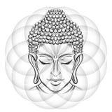 Buddha-` s Kopftätowierung Lizenzfreie Stockfotografie