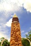 The Buddha's meditation,Thailand. Stock Photo