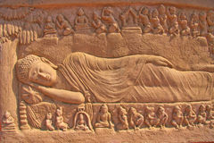 Buddha's nirvana Royalty Free Stock Photos