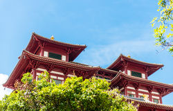 Buddha's Relic Tooth Temple in Singapore Chinatown Royalty Free Stock Image